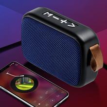 Portable Bluetooth Speaker Wireless Bass Column Waterproof Outdoor USB Speakers  Subwoofer Loudspeaker
