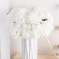 Schöne Pfingstrose Künstliche Blumen Bouquet Rosa Große Seide Blüte Gefälschte Blume Hause Hochzeit Mittelstücke Decor Wohnzimmer Schlafzimmer