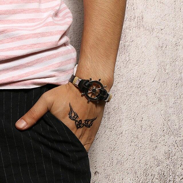 Bracelet rétro gouvernail  4