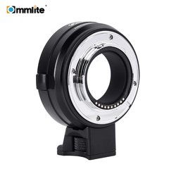 Commlite CM-EF-FX Electronic AF Lens Mount Adapter from Canon EF/EF-S Lens for Fujifilm FX-Mount Camera X-T20 X-T3 X-T2 X-Pro2