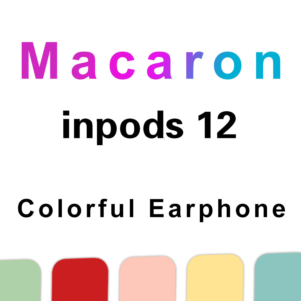 wholesale Original I12 TWS Inpods 12 Wireless Earphones Bluetooth 5 0 Earphone Bass Stereo Headsets Sport Earbuds Pk I9s I11 Tws