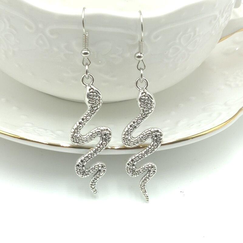 Presente brincos de moda jóias 2020 único animal criativo cobra brincos feitos à mão jóias high-end personalizado brincos diy