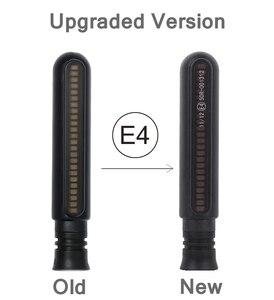 Image 5 - 4 Uds intermitente de motocicleta de giro LED 4E Mark señal de parada de agua luces de cola Flasher/funcionamiento intermitente DRL para Honda