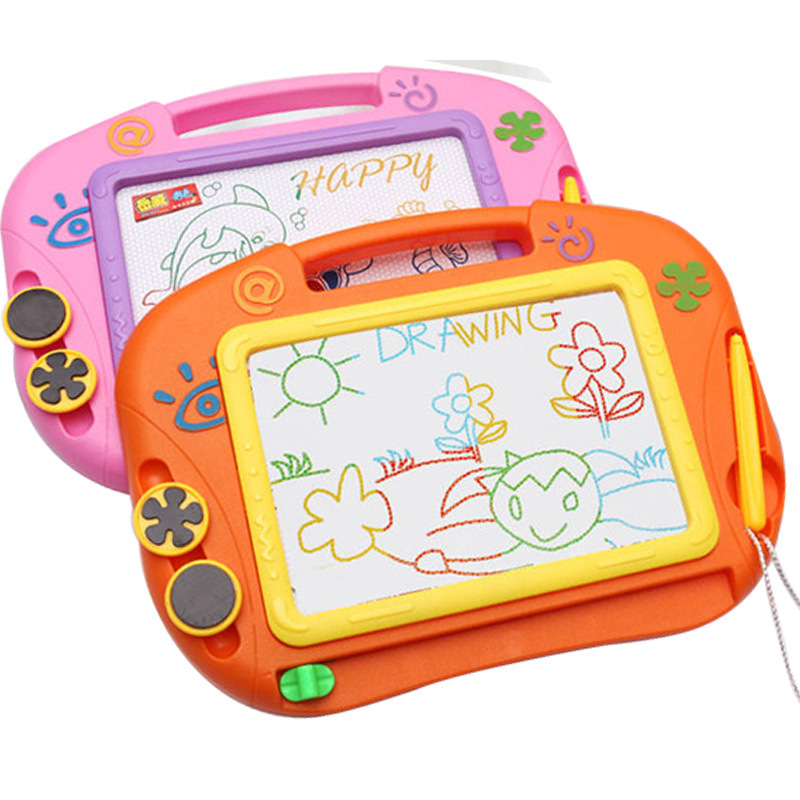 Cross Border Yue Wei Magnetic Color Sketchpad Children'S Educational Toy Graffiti Writing Board Painted 153C A Generation Of Fat