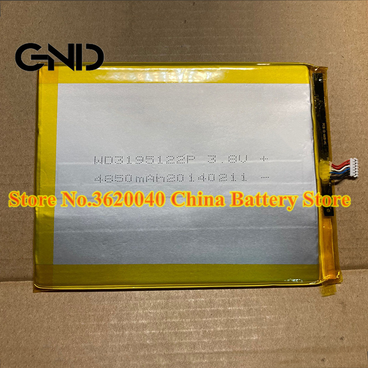 GND 3,8 V 4850 мА/ч, WD3195122P Замена Батарея для PCB-D-669-A1 перезаряжаемые высокого качества новый полимерный литий-ионный аккумулятор Батарея + Бесплат...
