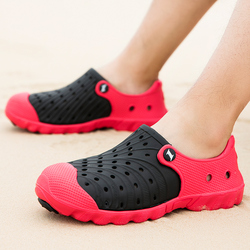 Summer Men Sandals Water Beach Shoes Slippers Men Jelly Sandals Men's Lightweight Sandals Garden Clogs Shoes Zapatos Hombre