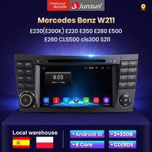 Junsun Android 10 2+32 car radio For Mercedes Benz E-Klasse (W211) E230(E200K A) E220 E350 E280 E500 E260 CLS500 cls300 S211 dvd voiture bluetooth/carplay/GPS /rds/carplay