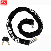 63cm Steel Bicycle Lock Chain Anti Theft MTB Road Bike Mountain Scooter Motorcycle Padlock Safety Cable Locks