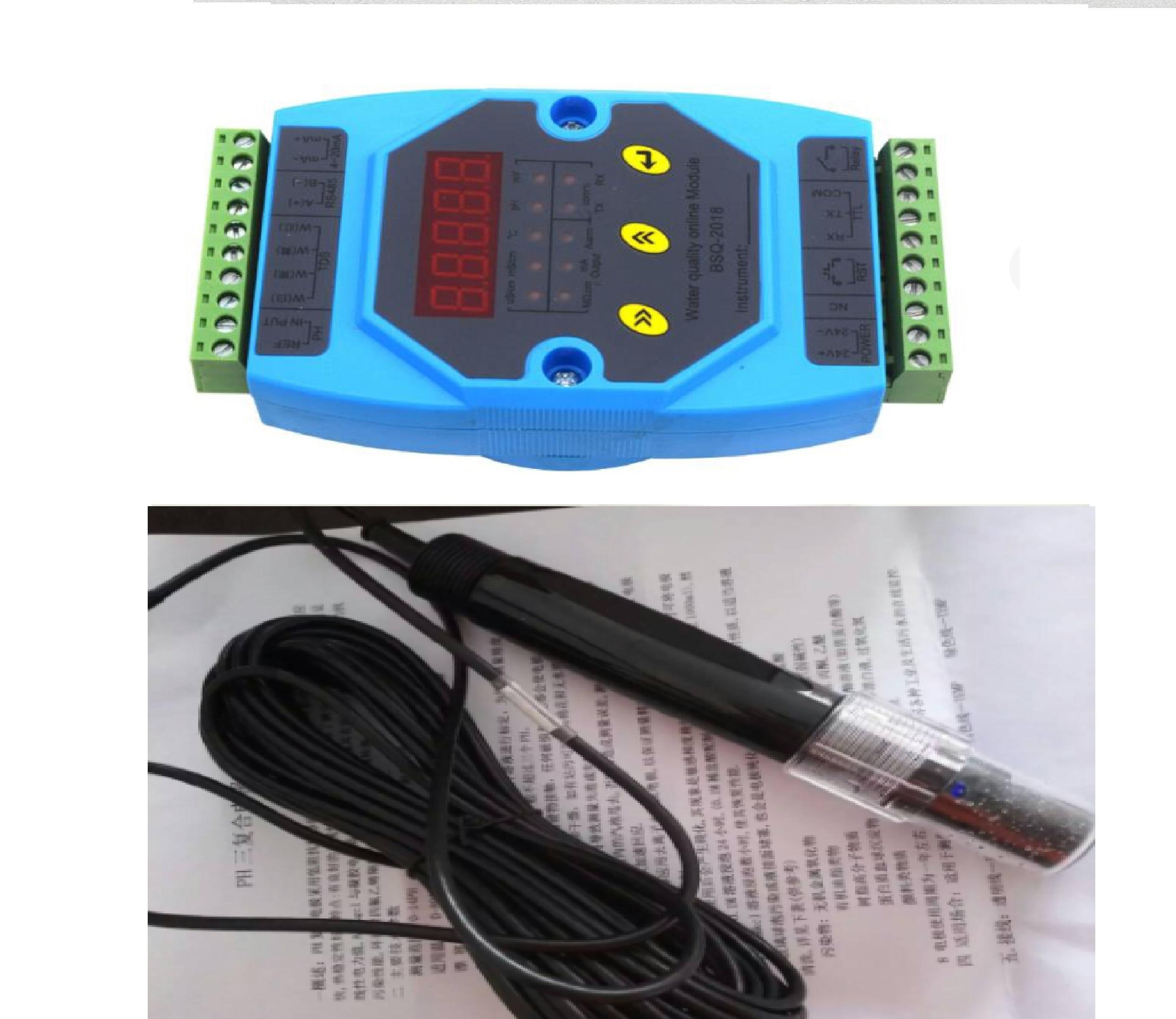 PH Control Instrument PH Meter PH Transmitter PH Module PH Electrode 4-2ma RS-485 Output