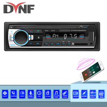 Dynf 1din in-dash rádios de carro estéreo controle remoto digital bluetooth áudio música estéreo 12v rádio do carro mp3 player usb/sd/AUX-IN