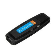 U-Disk Mini Voice Recorder Pen Digital Dictaphone Audio Recorder Sound USB 2.0 Professional Flash Drive For 1-32GB Micro SD Card