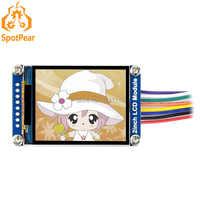 Pantalla IPS del módulo de la pantalla del LCD de 2 pulgadas interfaz del SPI de la resolución de 240 × 320