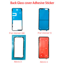 10Pcs/Lot,Waterproof Back Battery Glass Cover Sticker For Huawei Honor 9 10 8X