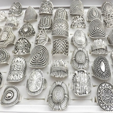 Creativo Designed Rings Chinese Traditional Style Silver Color Ring For Retail 50pcs/lot
