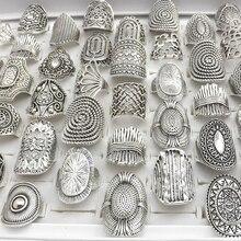 Creativo تصميم خواتم الصينية التقليدية نمط الفضة اللون الدائري للبيع بالتجزئة 50 قطعة/الوحدة