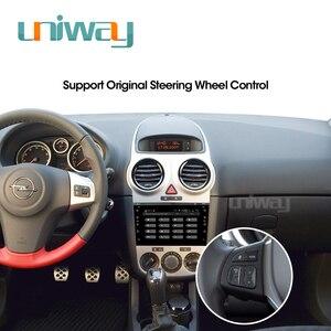 Image 5 - Uniway AOB7071 2G+32G android 9.0  car dvd gps for Opel Meriva Antara Zafira Veda Agila Corsa Vectra Astra H 2006 2007 2008 2009
