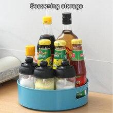 360 rotativa bandeja cozinha recipientes de armazenamento para spice jar lanche comida bandeja antiderrapante spice armazenamento bandeja organizador dropship