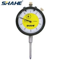 SHAHE 0.01mm 0 30mm wysoka profesjonalna jakość Dial wskaźnik pomiarowy miernik precyzyjny wskaźnik wybierania przyrząd pomiarowy narzędzia w Wskaźniki wybierania od Narzędzia na