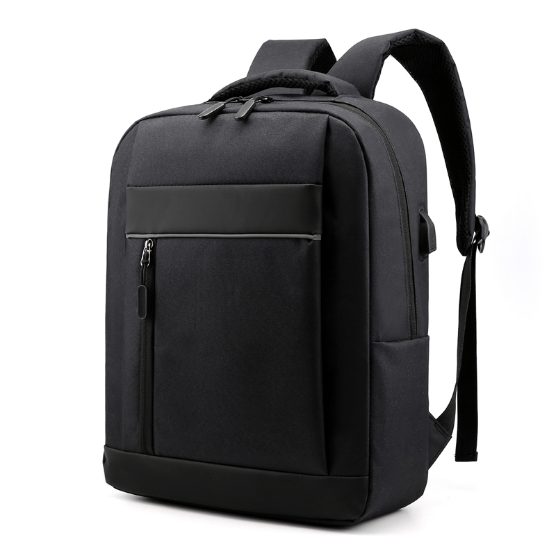 <font><b>Bts</b></font> Canvas Bookbag <font><b>Unisex</b></font> Solid Men Backpack Arcuate Shoulder Strap Casual Travel Laptop Usb Computer Interlayer Backpack image