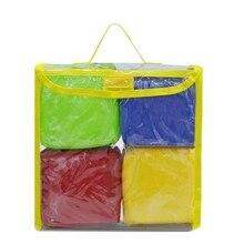 ¡Oferta! 3C DIY educativos juego de dados, cuadrados de bolsillo, bloques apilables de espuma de bolsillo de foto Juego de 4