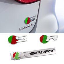 Decoración Para automóviles emblema para Jaguar Club XE XK XJ XF xel xfl xjl xjs xj6 E F ritmo S E tipo de Xtype xkr deporte coche etiqueta engomada del cuerpo de