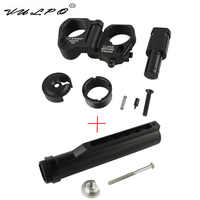 VULPO Tactical 6 Position Stock Pipe AR Folding Stock Adapter For M4 M16 Series Airsoft AEG GBB Hunting Accessories