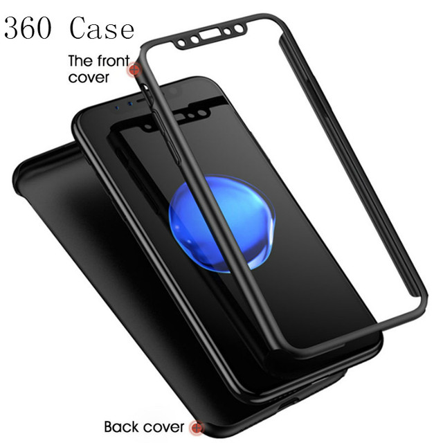 360 Full Cover Case For iPhone SE 2020 11 Pro Max Protective Cover For iPhone 11 XS Max XR X 8 7 6S 6 Plus 5 5S Cover With Glass 4