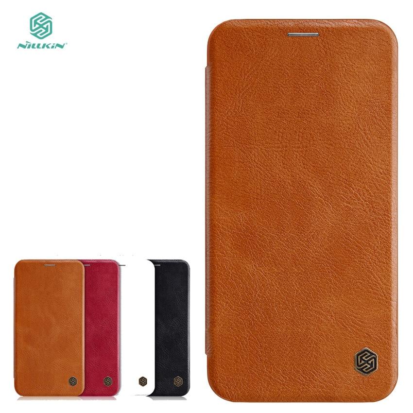 NILLKIN För Apple iPhone 7 Plus Väska Högkvalitativt läderfodral - Reservdelar och tillbehör för mobiltelefoner - Foto 1