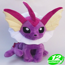 30cm Height Limited Edition Eevee Luma Anime New Plush Doll for Fans Collection Toy Vaporeon 30cm height limited edition eevee luma anime new plush doll for fans collection toy celebi