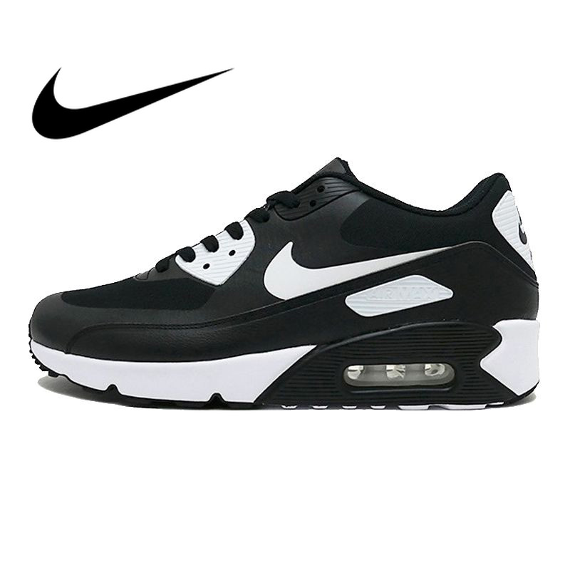 Official NIKE AIR MAX 90 ULTRA 2.0 Men's Breathable Running Shoes Classic Comfortable Outdoor Leisure Sports Sneakers 875695