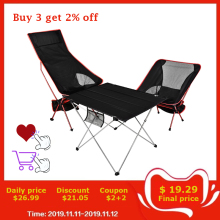 Chair Fishing Bbq-Stool Hiking-Seat Folding Ultralight Home-Furniture Office Collapsible-Moon