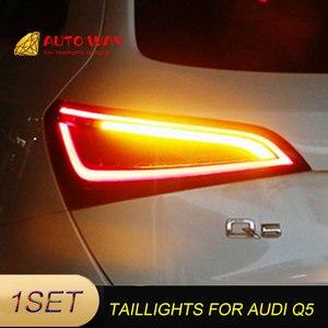 Image 3 - Araba Styling arka lambası park lambaları durumda Audi Q5 arka lambası 2009 2015 LED kuyruk lambası arka bagaj lambası Audi Q5 arka lambaları