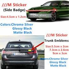 2 шт. м Мощность высокопроизводительный металлический логотип автомобиля Стикеры наклейка эмблема для решетки радиатора значок для BMW E46 E39 ...