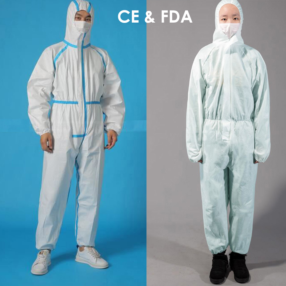 Disposable Medical Protective Clothing Medical Isolation Gown Covid-19 PPE