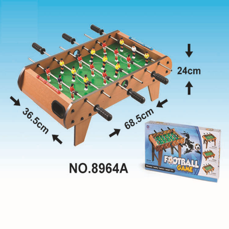 Brinquedo educacional para crianças esportes casuais pai e criança interativo futebol (madeira) brinquedo de esportes interior térmico