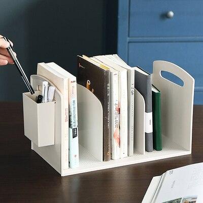 simples livro de plastico stand secretaria titular