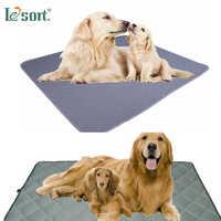 reusable dog pad Washable Dog Pet Diaper Mat Urine Absorbent Environment Protect Diaper Mat Waterproof Reusable Training Pad