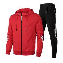 2021 dresy męskie dresy sportowe bieganie odzież sportowa odzież sportowa Jogging mężczyźni zestaw do joggingu kombinezony Fitness trening siłownia dres męski