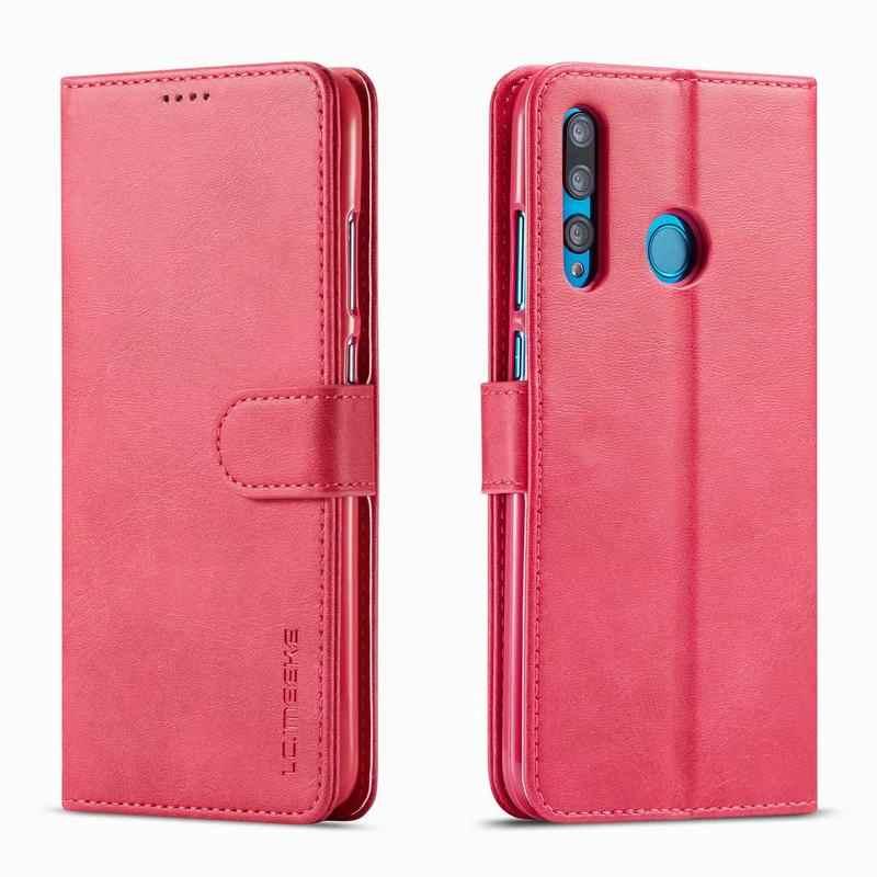 جلد الوجه حافظة لهاتف Huawei P الذكية 2019 غطاء حالة المحفظة بطاقة الفاخرة فوندا لهواوي P الذكية Z كوكه Psmart زائد الهاتف أكياس