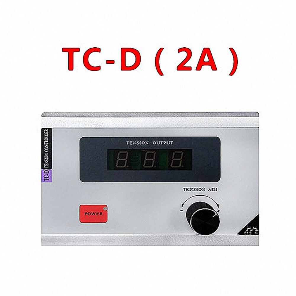Manual digital display Tension controller Magnetic powder brake clutch Regulatory control TC-D