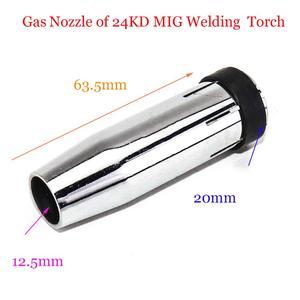 Image 4 - MB 24KD Torche De Soudage Consommables 35 pièces 0.8mm 1.0mm 1.2mm MIG Torche Gaz Buse de Gaz de Titulaire diffuseur de MIG MAG Machine De Soudage