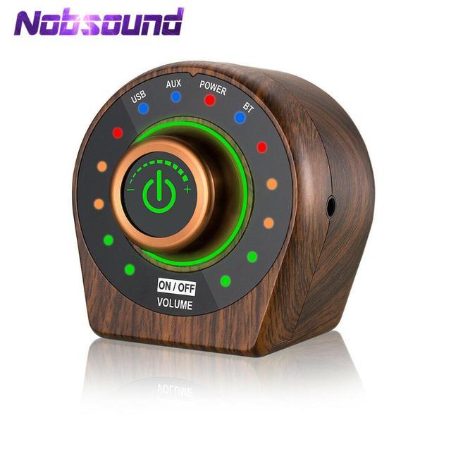 Nobsound MINI Bluetooth 5.0 เครื่องขยายเสียงดิจิตอล TPA3116 Class D สเตอริโอ Amp สำหรับรถลำโพง USB AUX ใน