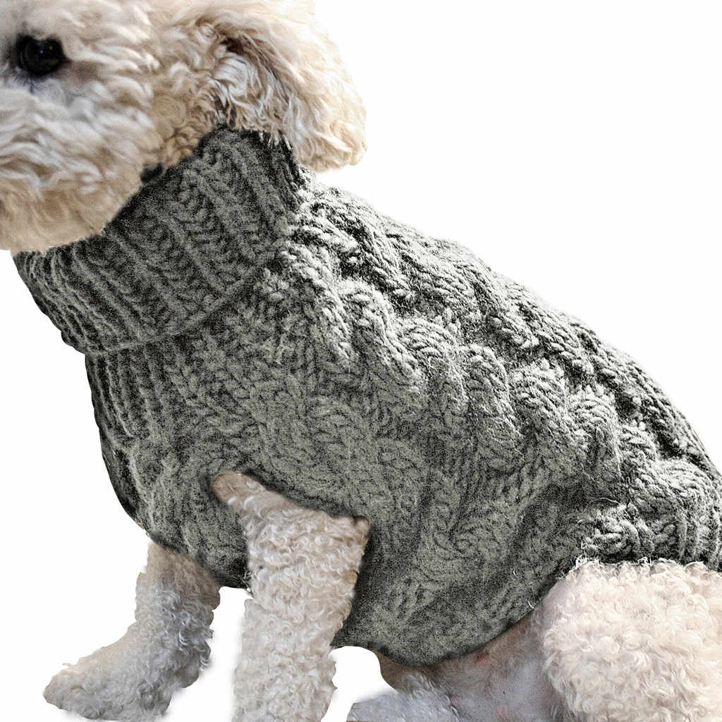 Hewan Peliharaan Musim Gugur dan Musim Dingin Pakaian Sweater Jumper Berukuran Kecil dan Menengah Anjing Rajut G Jumper Anjing Pullover Pakaian Anjing Hewan Peliharaan perlengkapan