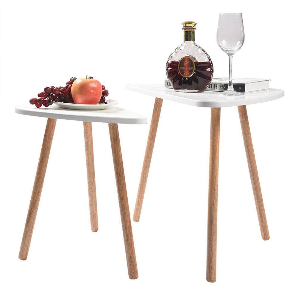 AsyPets Set Of 2 Nesting Tables Stacking Coffee/Side/End Tables For Living Room Decor