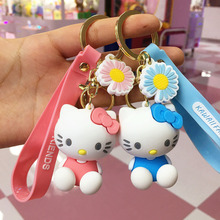Kids Toys Pendant Birthday-Present Keychain Cute Cartoon Cat-Doll Cat Girl for Christmas