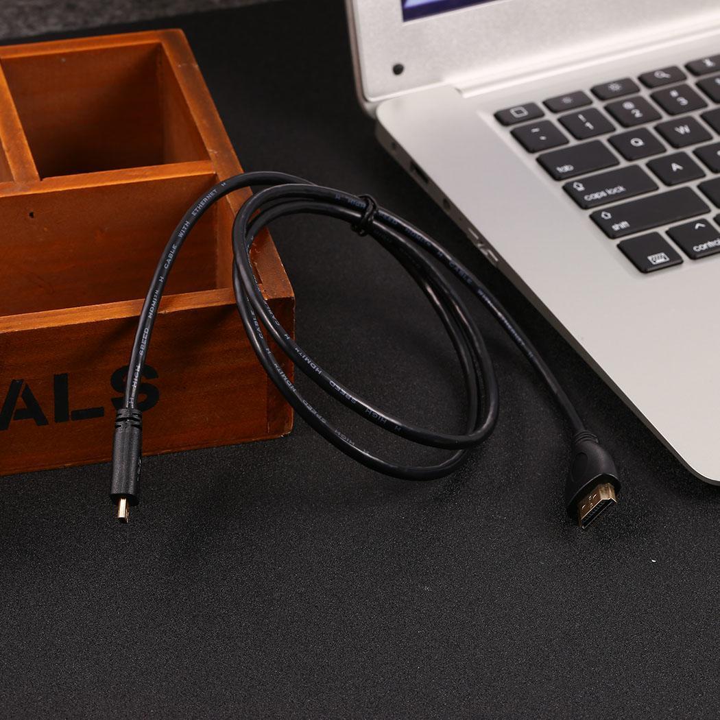Мультимедийный интерфейсный кабель Micro высокой четкости 1 м/39,4 дюйма, 1,5 м/59,1 дюйма, 3 м/118,1 дюйма для планшета камеры 1,3