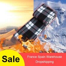 Зимний теплый шарф, Электрический шарф, шарфы, Электрический флис, длинный шарф, батарейный блок питания, флисовый шарф