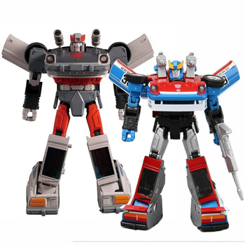 Takara Tomy Transformers MP19 MP18 MP-19 Smokescreen Streak Transformation Car Robot Boy Toys Deformation Robot Toy For Kids