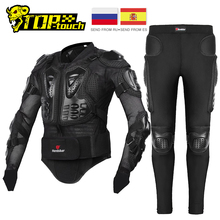 HEROBIKER Motorcycle Jacket Men Full Body Motorcycle Armor Motocross Racing Moto Jacket Riding Motorbike Protection Size S 5XL #
