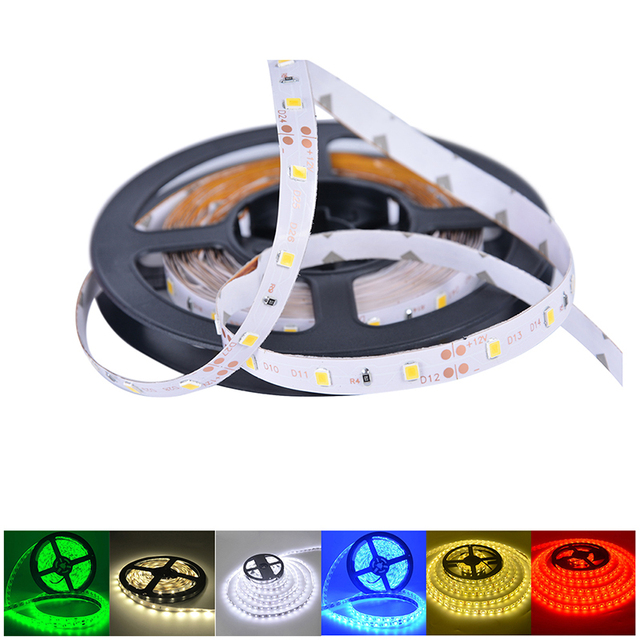 5M 300 LED Strip Light Non Waterproof DC12V Ribbon Tape Brighter SMD3528 Cold White/Warm White/Ice Blue/Red/Green/blue 2